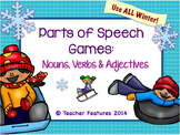 Parts of Speech Game: Winter Theme