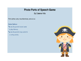 Parts of Speech Game - Pirate Style!