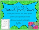 Parts of Speech Games ~ Comparative and Superlatives Adjectives/Adverbs