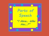 "Parts of Speech Games ""I have...Who has...?"" and Sorting f"