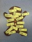 Parts of Speech Gingerbread Man