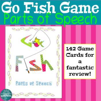 Parts of Speech Go Fish