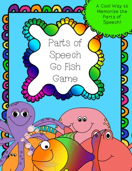 Parts of Speech Go Fish Game!