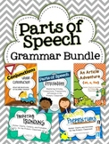 Parts of Speech: Grammar Bundle {Articles, Conjunctions, Prepositions, Pronouns}