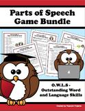 Parts of Speech Class Activities & Game Bundle