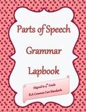 Parts of Speech Grammar Lapbook