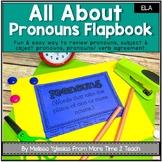 Parts of Speech   Grammar   Pronouns   Flap book & Assessment