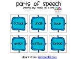 Parts of Speech Grammar Sort