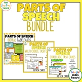 Parts of Speech Grammar Task Cards PLUS Digital Task Cards BUNDLE