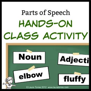 Parts of Speech Hands-on Class Activity
