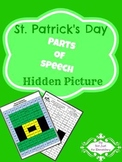 Parts of Speech: Hidden St. Patrick's Day Picture
