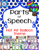 Parts of Speech (Hot Air Balloon Theme)