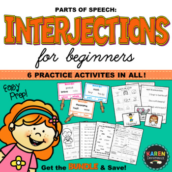 Parts of Speech - INTERJECTIONS