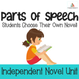 Parts of Speech-Independent Novel Study Unit for Middle School