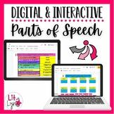 Digital Parts of Speech Interactive Activities