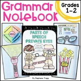 Grammar Interactive Notebook for First and Second Grade