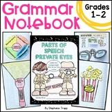Grammar Interactive Notebook, Parts of Speech, Interactive