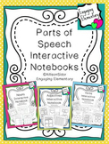 Parts of Speech Interactive Notebook Bundle