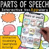 Parts of Speech Interactive VocAPPulary™ - Grammar Vocabul