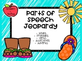 Parts of Speech Jeopardy Game Show