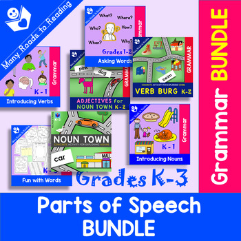 Parts of Speech K-3 BUNDLE