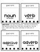 Parts of Speech Lap Book