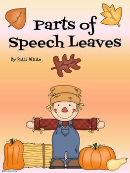 Parts of Speech Leaves