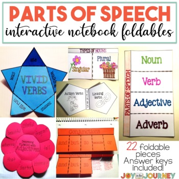 Parts of Speech (Interactive Notebook)