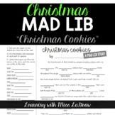 Parts of Speech Mad Libs - Christmas Cookies
