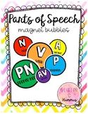 Parts of Speech Magnet Bubbles