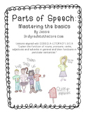 Parts of Speech: Mastering the Basics