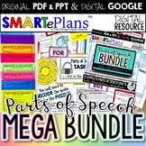 Parts of Speech Mega Bundle for Secondary ELA (Digital and