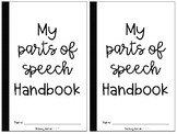 Parts of Speech Mini Book