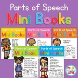 Parts of Speech Mini Books Bundle