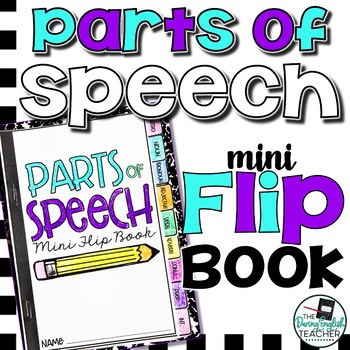 Parts of Speech Mini Flip Book