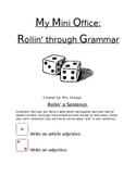 Parts of Speech Mini Office: Rollin' on through with Grammar!