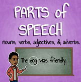 Parts of Speech Mini Pack