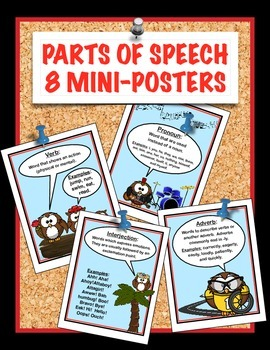 Parts of Speech Mini-Posters