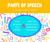 Parts of Speech Unit