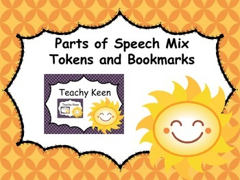 Parts of Speech Mix Tokens and Bookmarks