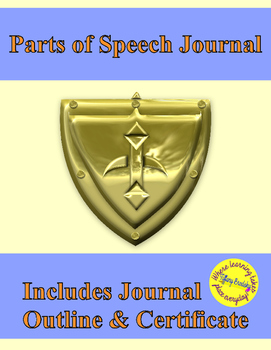 Parts of Speech Notes Journal for a Grammar Knight