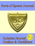 Parts of Speech Notes Journal for a Grammar Knight
