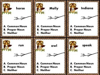 Parts of Speech Noun Bundle