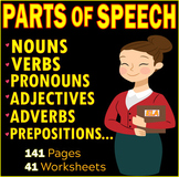 Parts of Speech | Noun | Verb | Adjective | Pronoun | Prep
