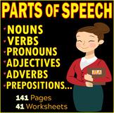 Parts of Speech | Noun | Verb | Adjective | Pronoun | Prep