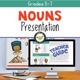 Nouns and Noun Jobs Slideshow Presentation