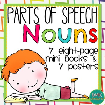 Parts of Speech: Nouns Mini Book and Poster Set