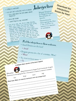 Parts of Speech: Nouns - Penguin Pirate Lessons