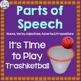 Parts of Speech (Nouns, Verbs, Adjectives, Adverbs & Prepo