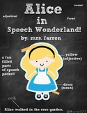Parts of Speech (Nouns, Verbs, Adjectives) Alice in Speech